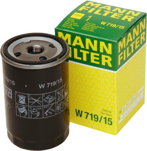 Original MANN-FILTER W 719/15 - Schmierölwechselfilter - für PKW