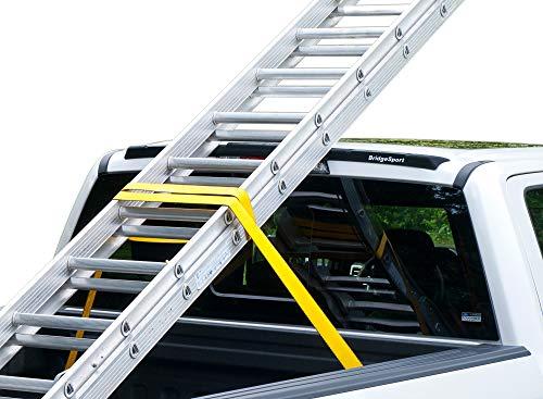 BridgeSport Headache Ladder Rack Spoiler for Ford F150 2015-2020 & Super Duty 2017-2019 Truck Cab