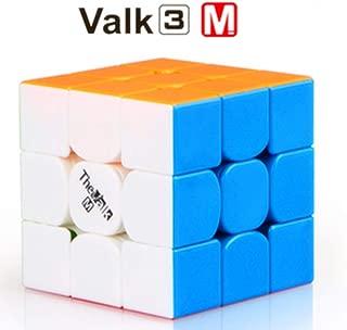 CuberSpeed QiYi Valk 3 Magnetic 3x3x3 Stickerless Magic Cube QiYi MoFangGe The Valk 3 M 3X3X3 Speed Cube