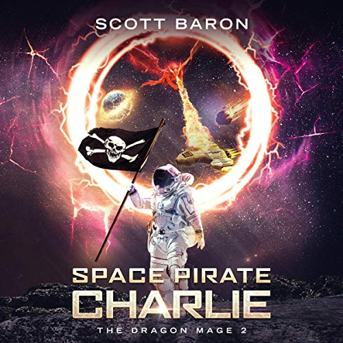 Space Pirate Charlie audiobook cover art