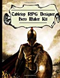 Tabletop RPG Designer Hero Maker Kit: Expand on your Tabletop RPG Designer   Space for creating more player characters as well as space to draw them ... gift idea for creative minds, artist, DMs