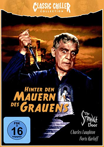 HINTER DEN MAUERN DES GRAUENS (+ CD) - CLASSIC CHILLER COLLECTION # 9 -LIMITED EDITION [Blu-ray]