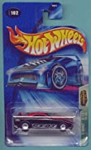 Hot Wheels 2004 Treasure Hunt Black & Red GT-03 2/12 #102 Limited Edition 1:64 Scale Collectible Die Cast Car
