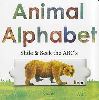 animal alphabet slide & seek the abc's