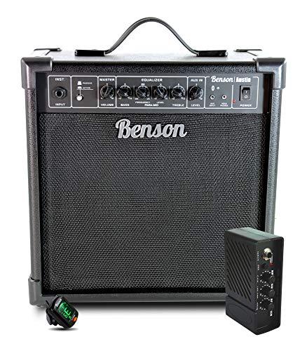 Benson Austin 35 watt Bass guitar Amplifier (twin channel + active and...