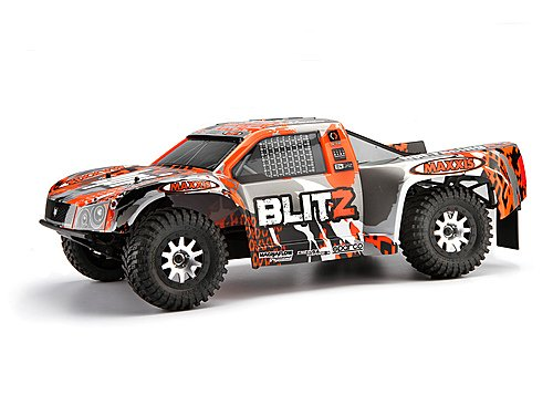 HPI Blitz Short Course Truck 2WD 1 10 RTR 2,4 GHz*