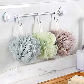 Bath Shower Sponge Loofahs Mesh Pouf Shower Ball, Mesh Bath and Shower Sponge Pack of 4