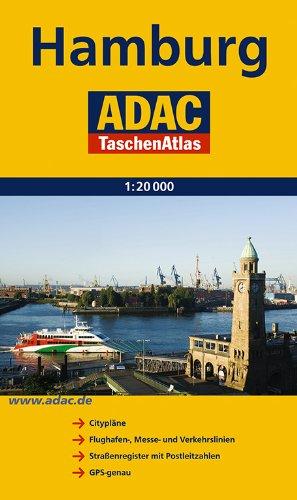 ADAC TA Hamburg (ADAC TaschenAtlanten 1:20.000)