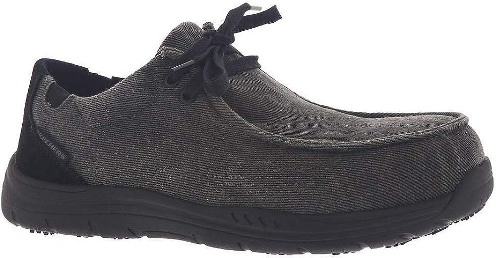 Skechers Mens's Work Otsego - Onerous Alloy Toe Sneaker Moc