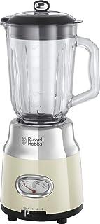 Russell Hobbs Mixeur Blender Electrique 1,5L, Bol Gradué, Lames Acier Inoxydable Amovibles, 3 Vitesses, Puissant, Design V...
