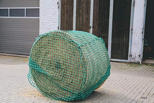 Konege Rundballenheunetz - 1,4m x 1,4m x 1,6m, Mw 6,0cm, 5,0mm Kordelstärke, Heunetz