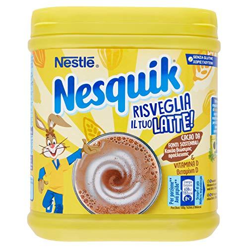 Nesquik Cacao Solubile per Latte Barattolo 500 g