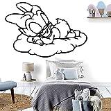 yaonuli Vinilo Adhesivo de Vinilo Autoadhesivo de Pato para habitación de niños en casa 36x52cm