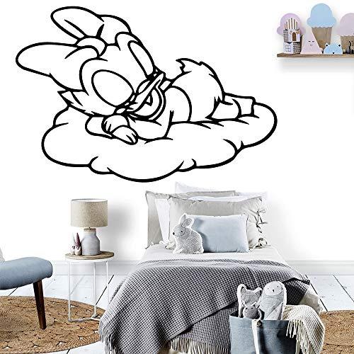 AGjDF Niedliche Selbstklebende Vinyl wasserdichte Wandkunst Vinyl Wandaufkleber für Kinderzimmer Wohnaccessoires30x44cm