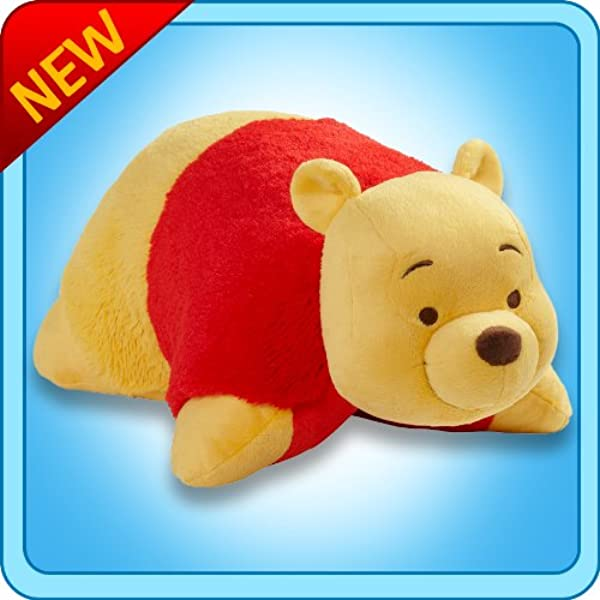 Pillow Pets Disney Winnie The Pooh Winnie Stuffed Animal Plush Toy