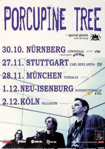 Porcupine Tree - The Incident, Tour 2009 » Konzertplakat/Premium Poster | Live Konzert Veranstaltung | DIN A1 «