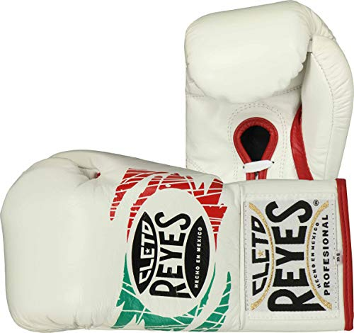 Cleto Reyes Professionelle Kampfhandschuhe, offizielles Produkt, Herren, Mexican Flag (Official Boxing Gloves), 10-Ounce
