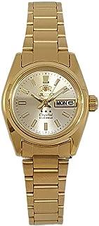 اورينت اتوماتيك ستانلس ستيل ذهبي ساعة للسيدات SNQ0A01YC8