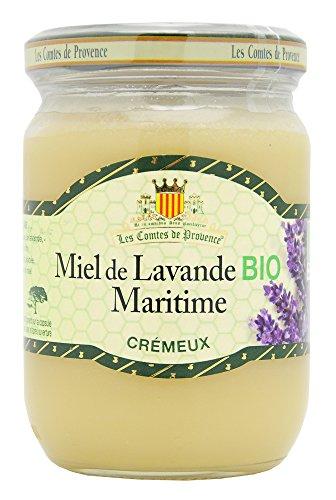 Miel de Lavande Cremeux Bio Les Comtes de Provence 330 g - Lot de 3