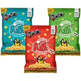 The Mumum Co. Protein Puffs Combo Healthy Snacks for Kids, 180 g- Pack