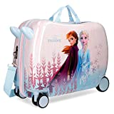Maleta infantil Frozen True to Myself ruedas multidireccionales