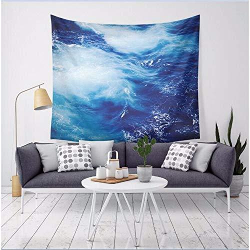 Djkaa wandtapijt, motief oceaangolf, motief surf op de zee, Scenic, wandtapijt, polyester, dun, yogamat, nieuwe decoratie voor thuis 230x150cm