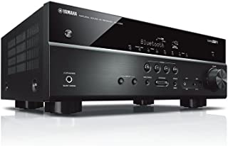 YAMAHA 雅马哈 RX-V385 音响 音箱 家庭影院 AV功放 5.1声道数字功率放大器 蓝牙/支持4K超高清 黑色(亚马逊自营商品, 由供应商配送)