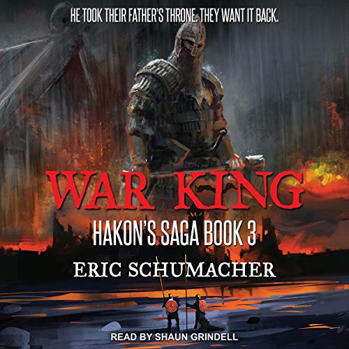 War King audiobook cover art