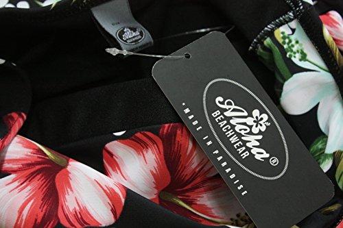 Aloha-Beachwear Damen Bikini A1026 Mehrfarbig Gr. 38 - 4