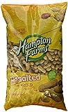 Hampton Farms No Salt Roasted In Shell Peanuts, 5 lb. Bag
