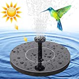 Solar Fountains With Battery Backup