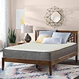 Nutan 10-Inch Pocketed Coil Rolled Medium Plush Mattress with Cover,Full Size