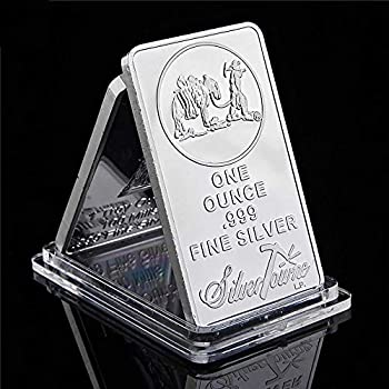 Rare USA American Prospector 1OZ 999 Value Bullion Bar US Union Silver Color Coin Collection