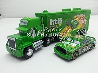 Pixar Cars Diecast Mack Uncle & No.86 Chick Hicks Metal Toy Car