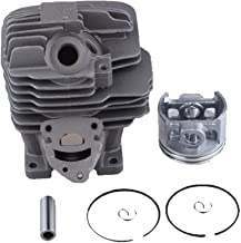WELOVEHOME 44.7mm Cylinder Piston Kit Fit for STIHL MS261 MS261C MS261CBE Chainsaw Replaces 1141 020 1200, 1141 020 1202