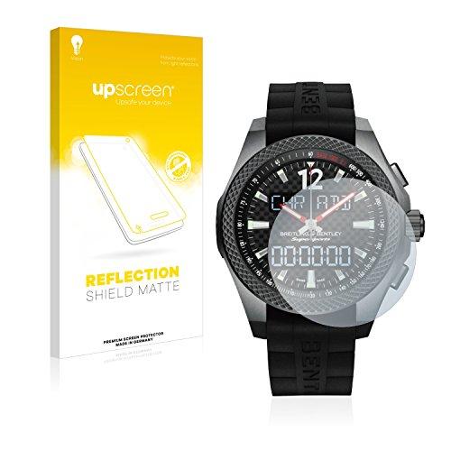 upscreen Entspiegelungs-Schutzfolie kompatibel mit Bentley Supersports B55 – Anti-Reflex Bildschirmschutz-Folie Matt