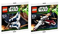 レゴ スター・ウォーズ 『ミニ Z-95 ヘッド・ハンター』『ミニ マンダロリアン・ファイター 』 LEGO STAR WARS 『 MINI Z-95 HEADHUNTER』『MINI Mandalorian Fighter』並行輸入品