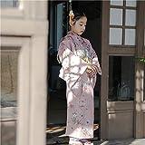 Dawn Matthew 子供用浴衣 ガールズゆかた きもの 着物 kimono 春夏モデル ヴィンテージの新鮮な写真旅行の道具を撮ります 日本式子供服と浴衣の女の子 (身長100cm, 3)