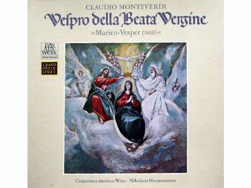 Monteverdi: Vespro della Beata Vergine (Marien-Vesper) [Vinyl Schallplatte] [2 LP Box-Set]