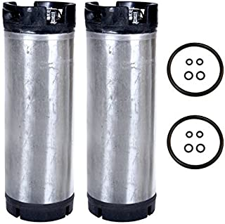 Beverage Factory Reconditioned 5 gal Pin Lock Kegs (Pack of 2)