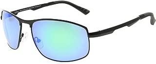 Eyekepper Metal Frame Spring Hinges Polycarbonate Lens Polarized Sunglasses Men Women