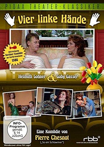 Vier linke Hände (Temporeiche Komödie von Pierre Chesnot mit Helmuth Lohner und Gaby Gasser) (Pidax Theater-Klassiker)