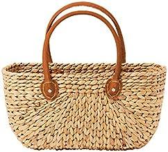 Salisbury & Co Province Carry Basket w/Suede Handles Medium