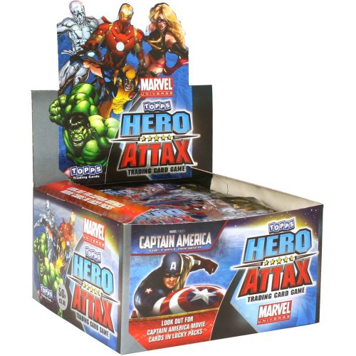 TOPPS - HERO ATTAX 50 BOOSTER - DISPLAY