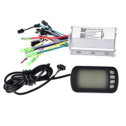 Motor Brushless Controller, Elektrische Brushless Controller 36 V / 48 V 350 Watt mit LCD Panel für E-Bike Elektro Bike Roller