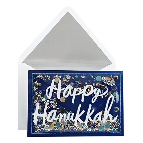 Hallmark Signature Hanukkah Card (Happy Hanukkah Confetti)
