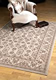 Moldabela 7171 1 Alfombra de Lana Natural (Bella Beige & Light Brown, 1,6x2,3 m)