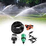 Omabeta Kit de riego de plástico, Kit de riego automático, Sistema de riego, Sistema de riego de jardín para balcón, Cesta Colgante