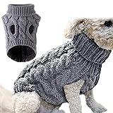 Perro Gato Sudadera, suéter para Mascotas,Mascota Cálido Abrigo de Invierno, Suéter para mascota, Chaleco de Perro,Ropa para mascotas, Mascotas Abrigo de Invierno, cálido Chaqueta de Cachorro