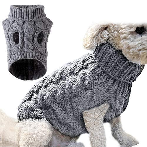 Perro Gato Sudadera, suéter para Mascotas,Mascota Cálido Abrigo de Invierno, Suéter para mascota, Chaleco de Perro,Ropa para mascotas,...